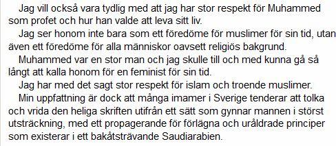 muhammed var en feminist
